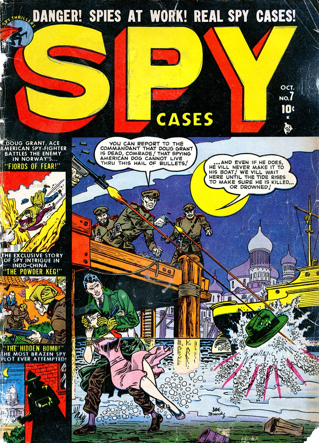 Spy Cases 7 Page 1