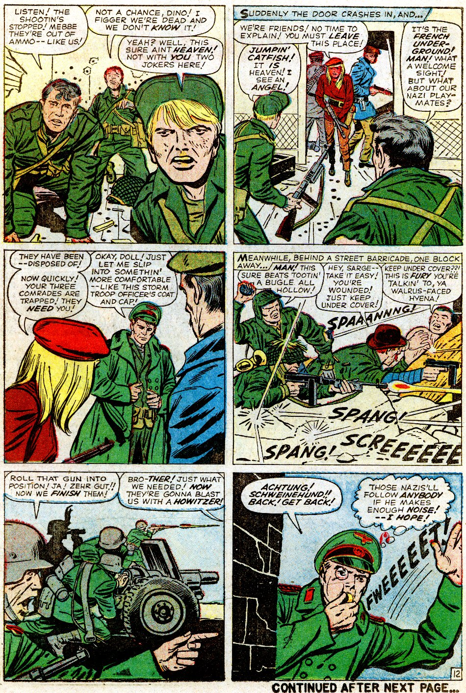Read online Sgt. Fury comic -  Issue #1 - 18