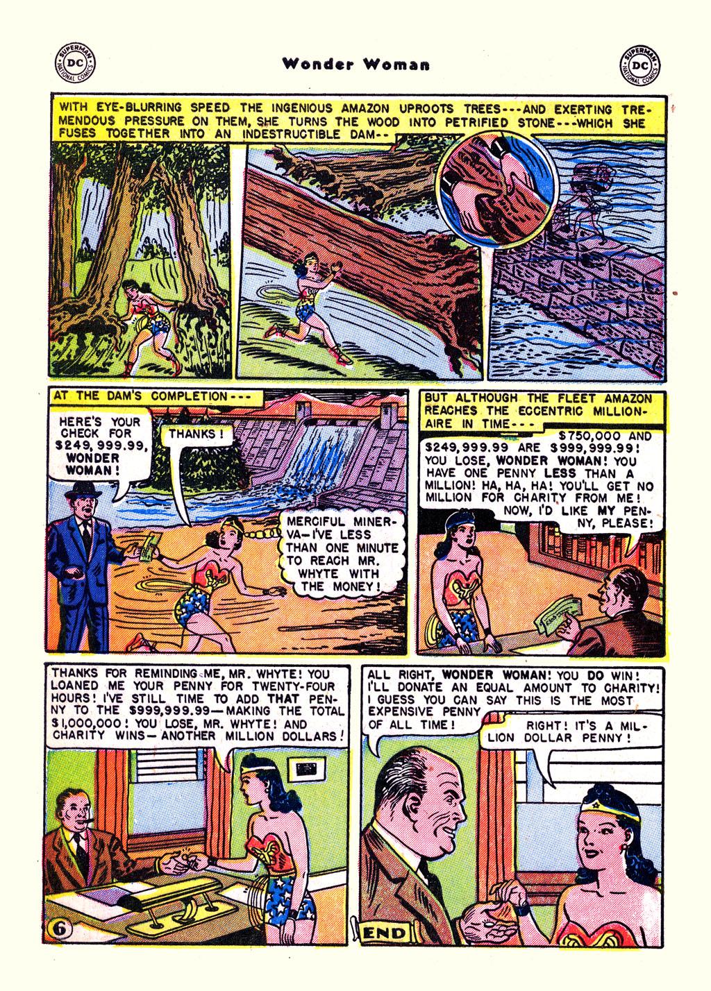 Read online Wonder Woman (1942) comic -  Issue #59 - 32