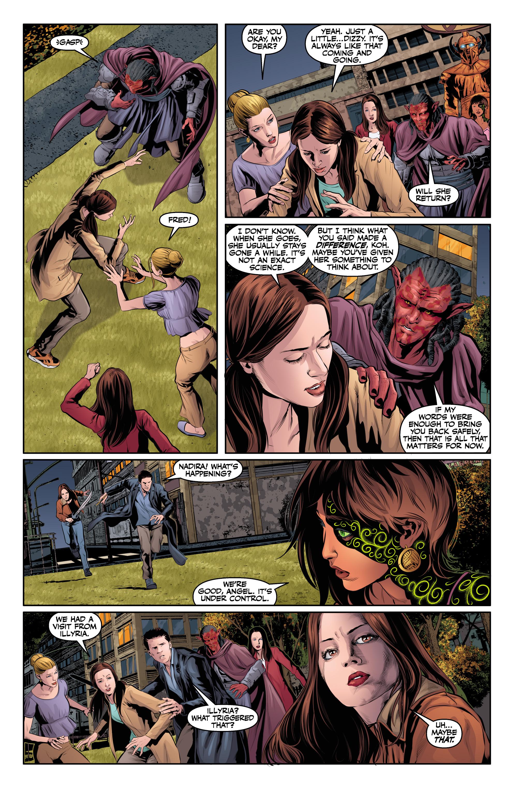 Read online Angel & Faith Season 10 comic -  Issue #24 - 11