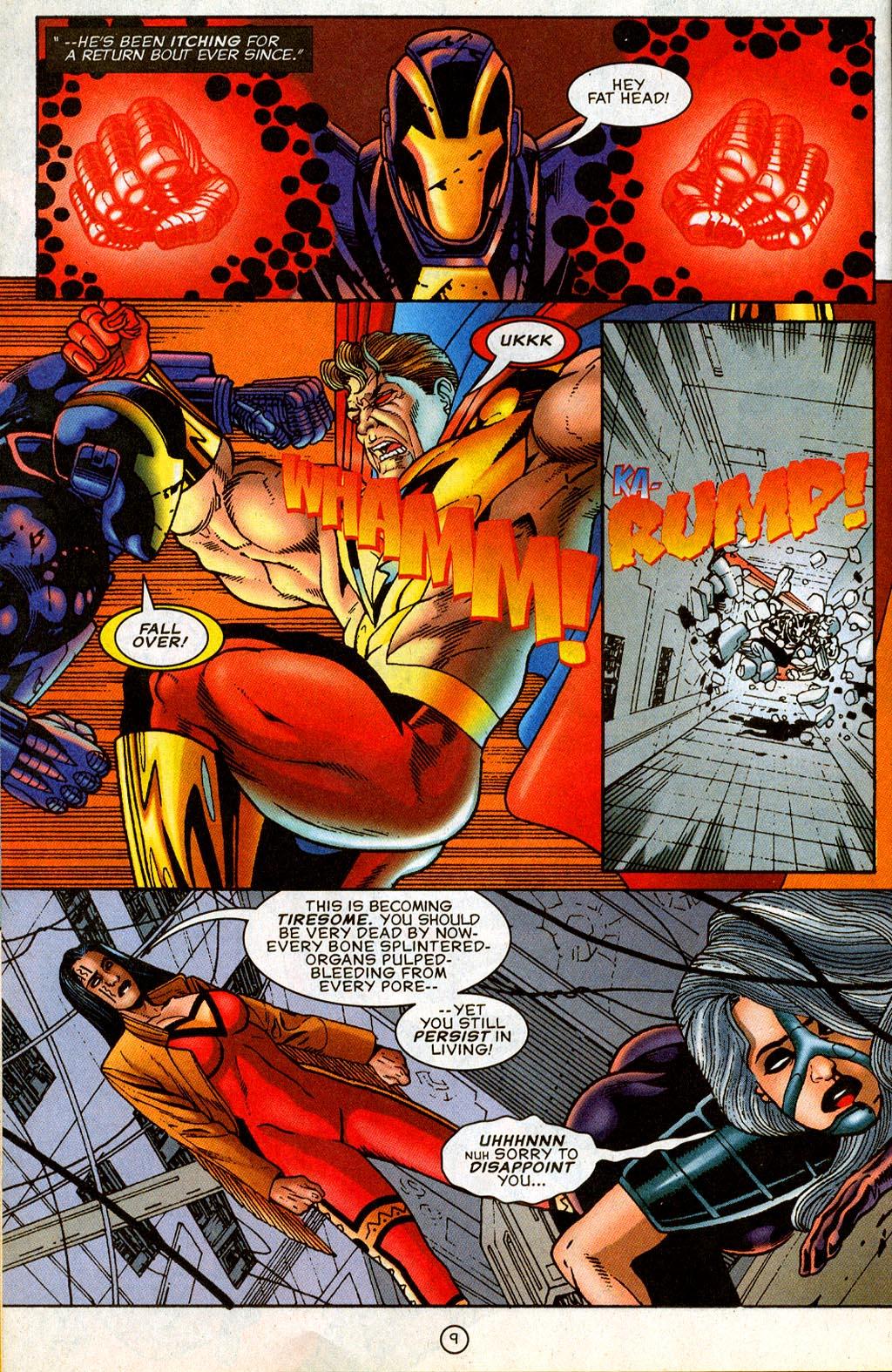 Read online UltraForce (1995) comic -  Issue #9 - 9