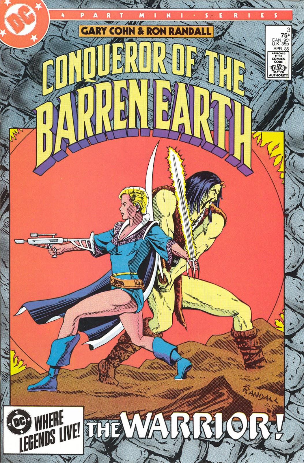 Conqueror of the Barren Earth 3 Page 1