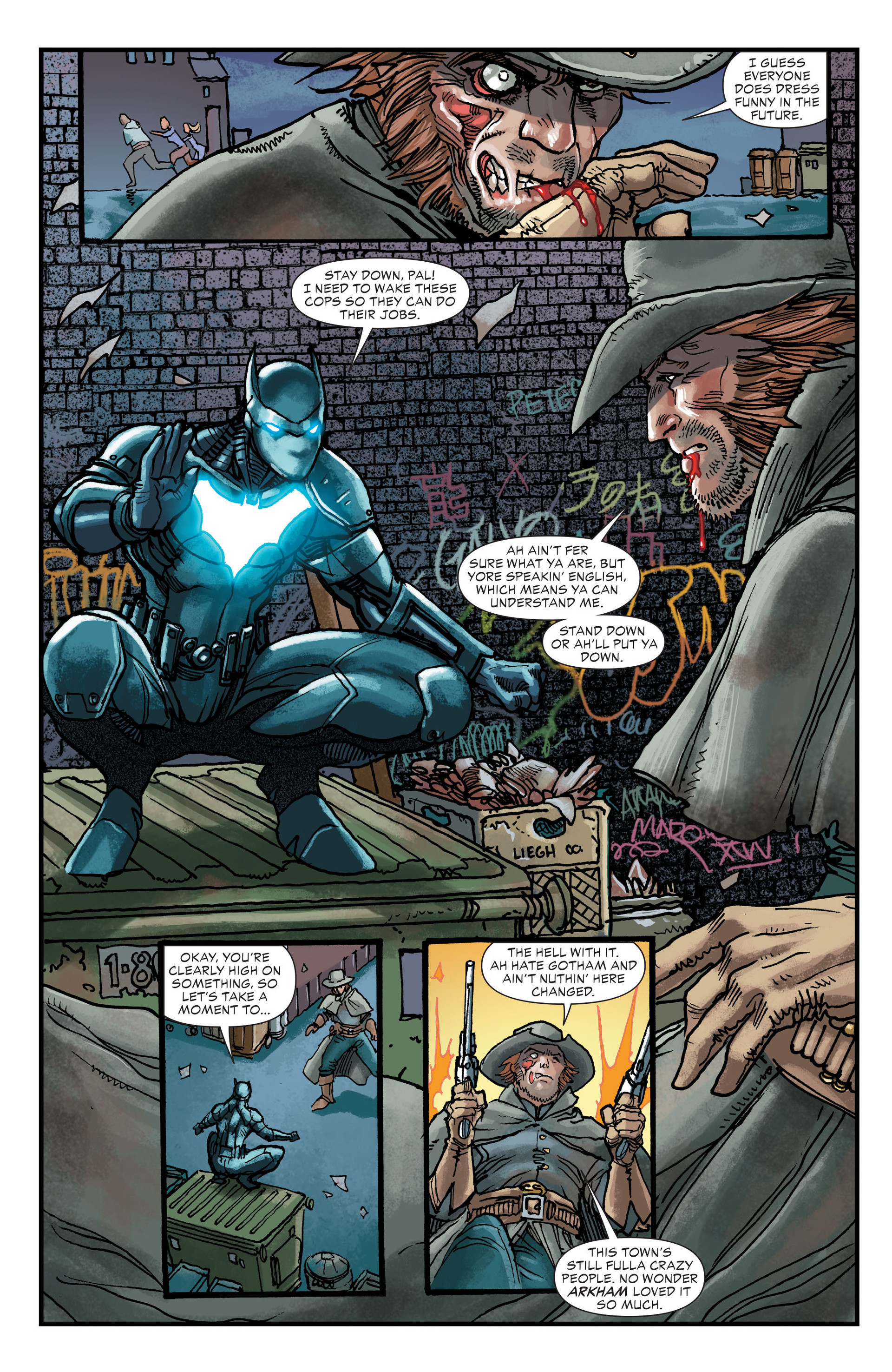 Read online All-Star Western (2011) comic -  Issue #21 - 16