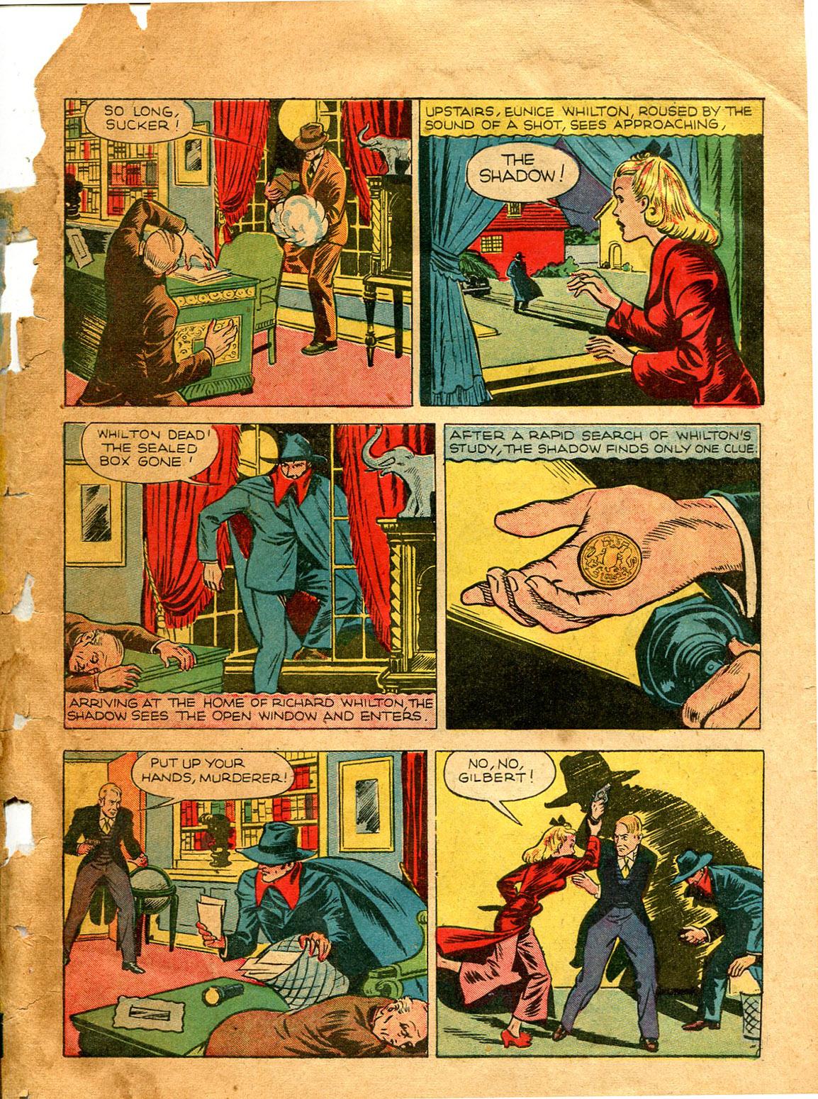 Read online Shadow Comics comic -  Issue #9 - 5