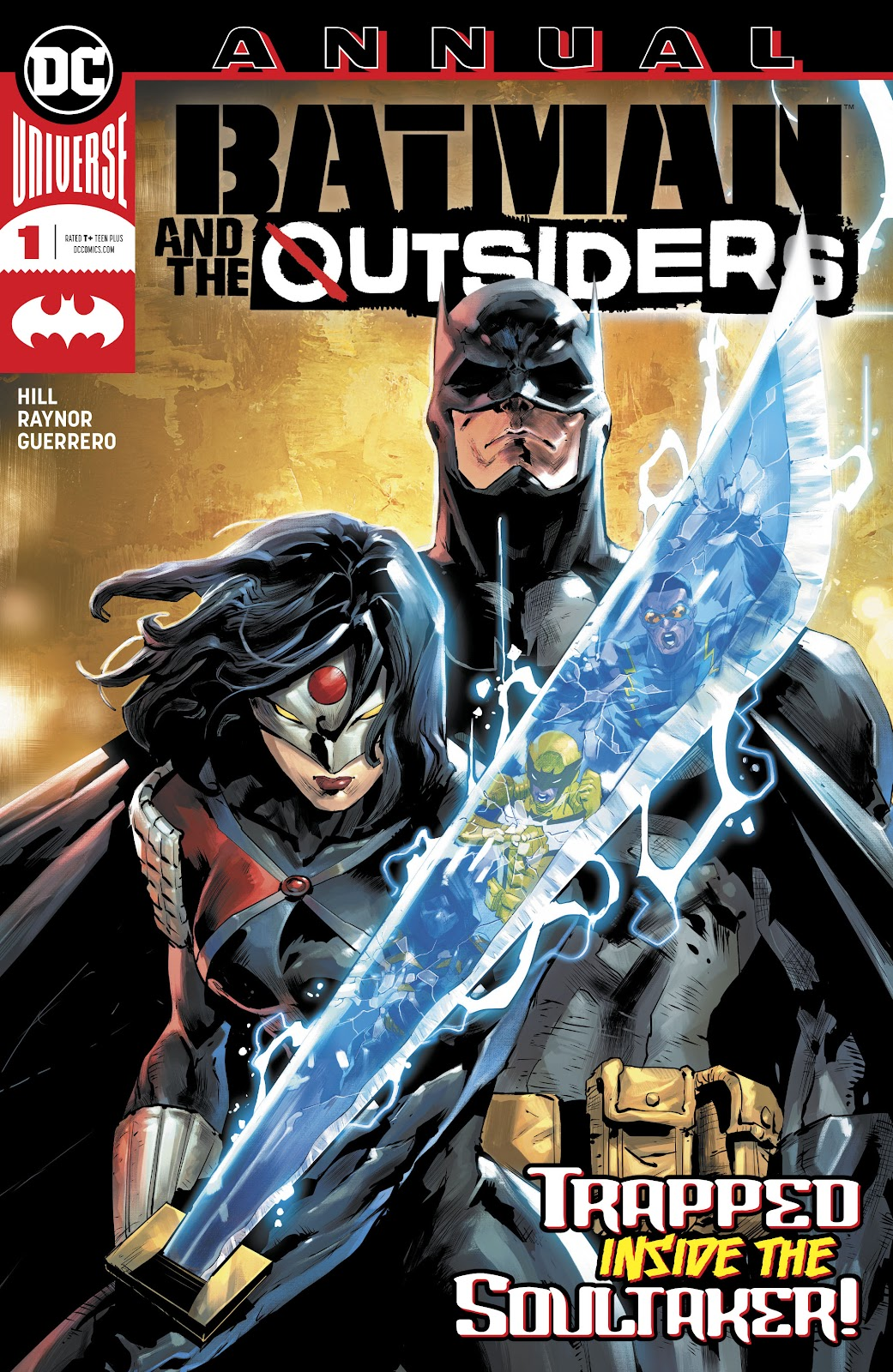 Read Online Batman The Outsiders Comic Issue Annual 1
