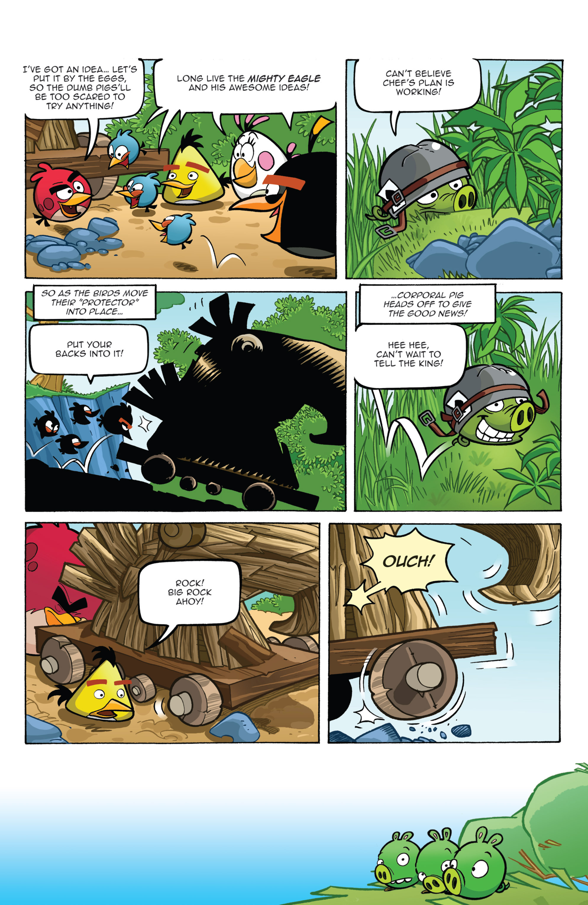 Read online Angry Birds Comics (2014) comic -  Issue #2 - 9