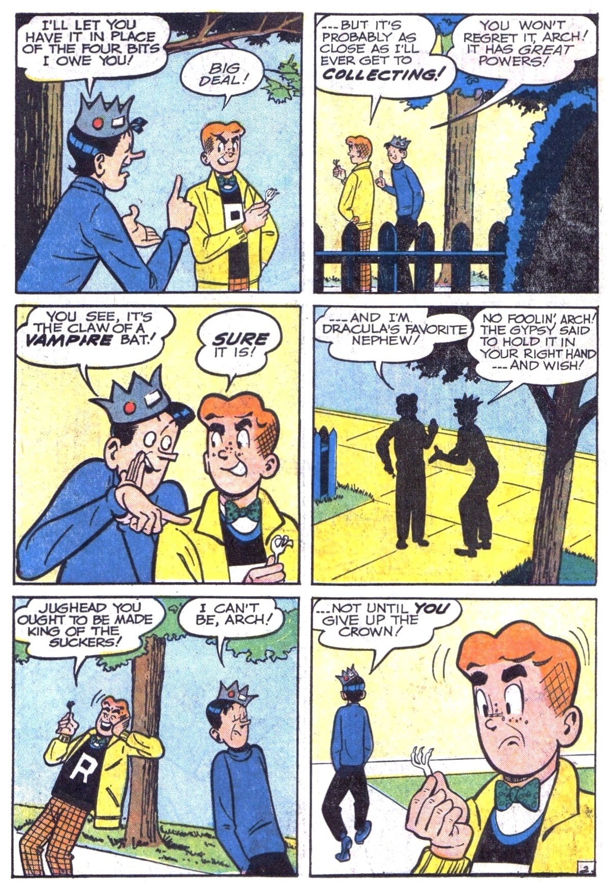 Read online Archie (1960) comic -  Issue #128 - 14