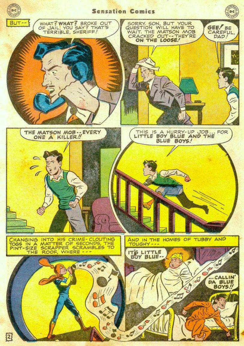 Read online Sensation (Mystery) Comics comic -  Issue #65 - 17