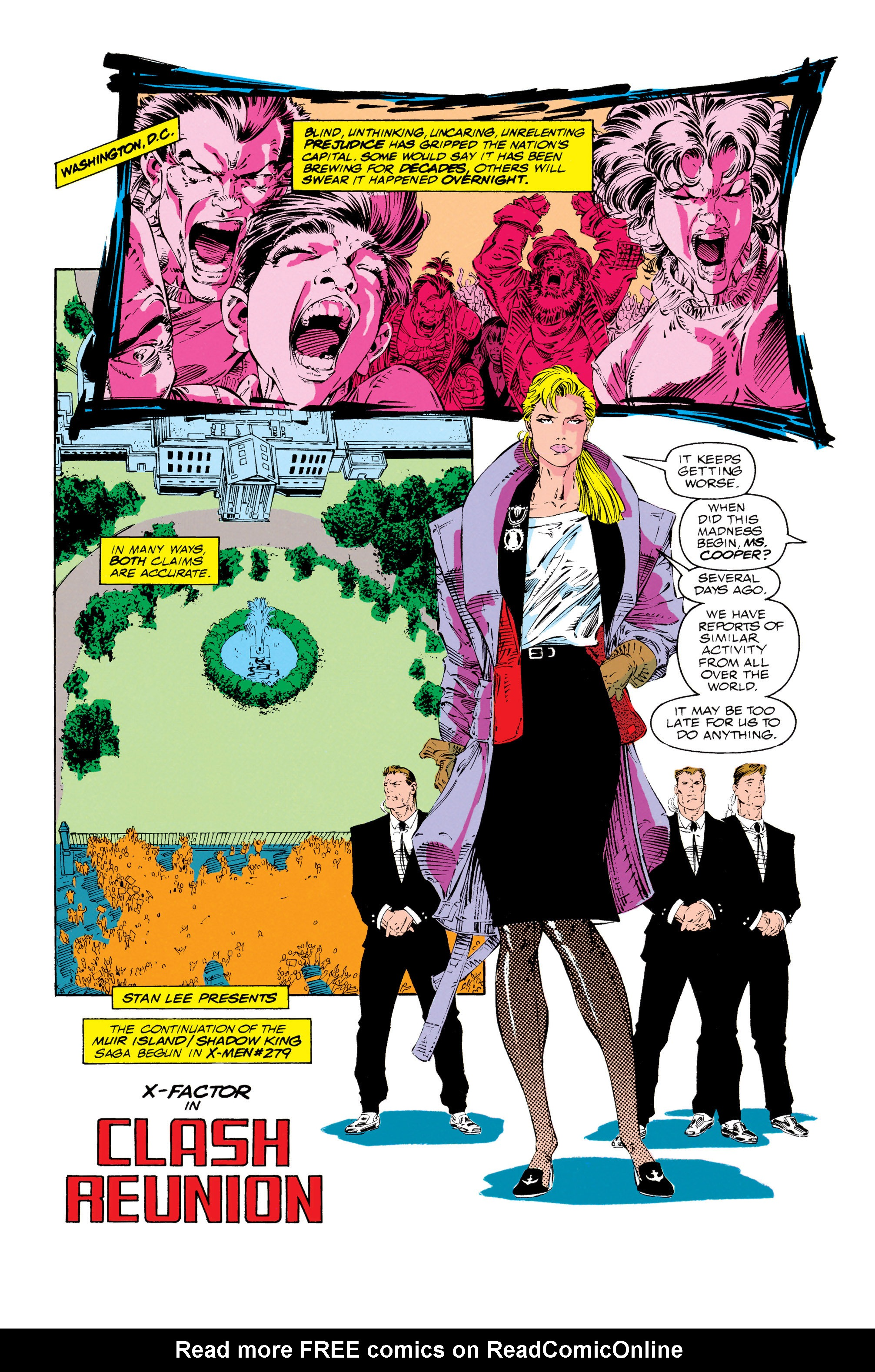 Read online X-Factor (1986) comic -  Issue #69 - 2