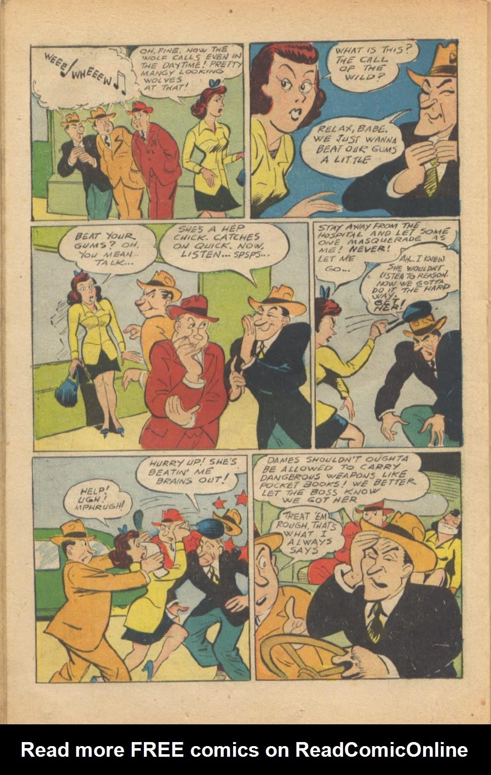 Read online Super-Magician Comics comic -  Issue #37 - 33