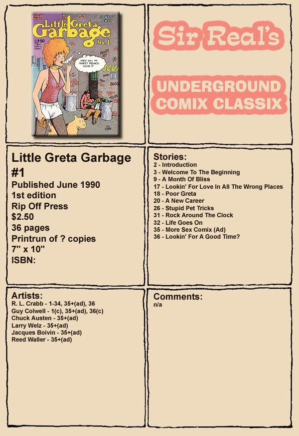 Little Greta Garbage 1 Page 1