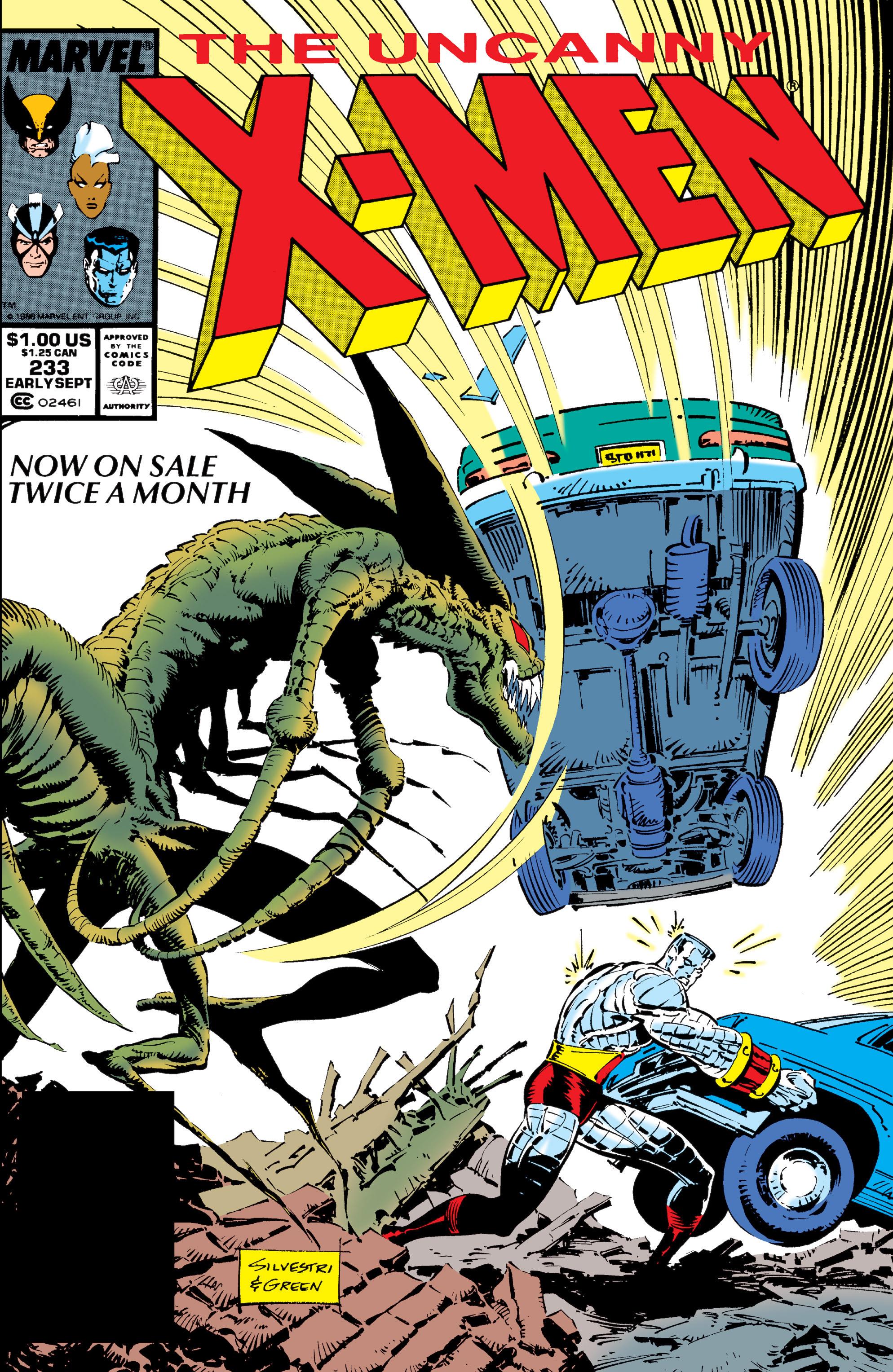 Read online Uncanny X-Men (1963) comic -  Issue #233 - 1