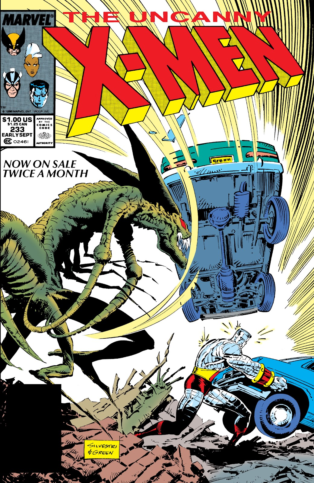 Uncanny X-Men (1963) issue 233 - Page 1