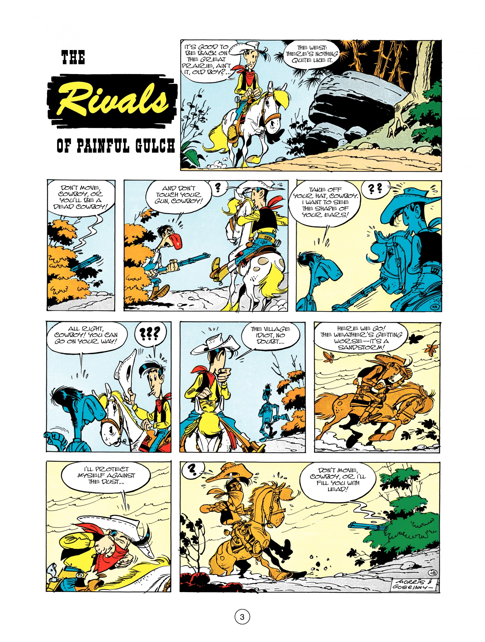 Read online A Lucky Luke Adventure comic -  Issue #12 - 3