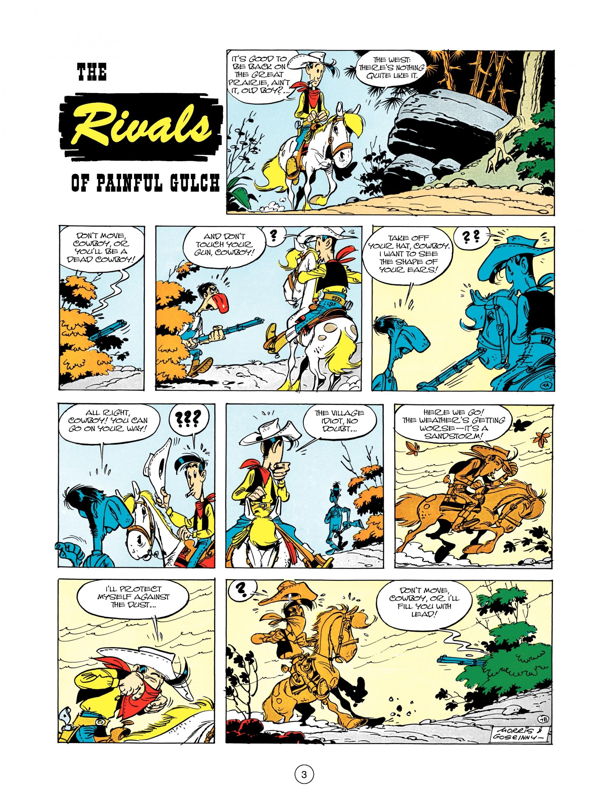 Read online A Lucky Luke Adventure comic -  Issue #12 - 3