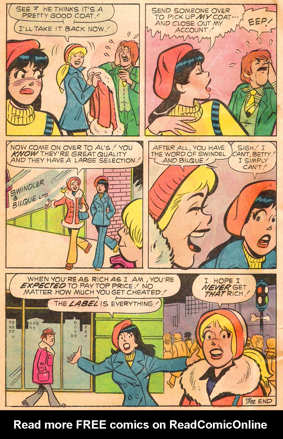 Read online Archie's Girls Betty and Veronica comic -  Issue #244 - 8