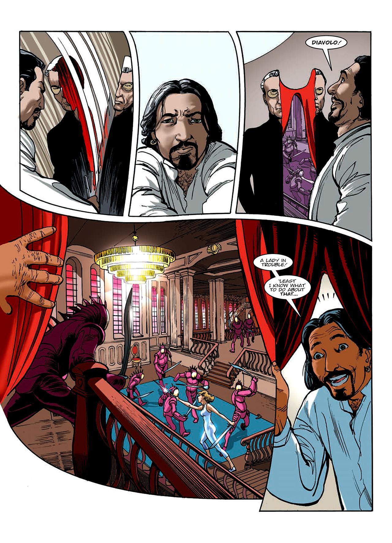 Read online Nikolai Dante comic -  Issue # TPB 10 - 122