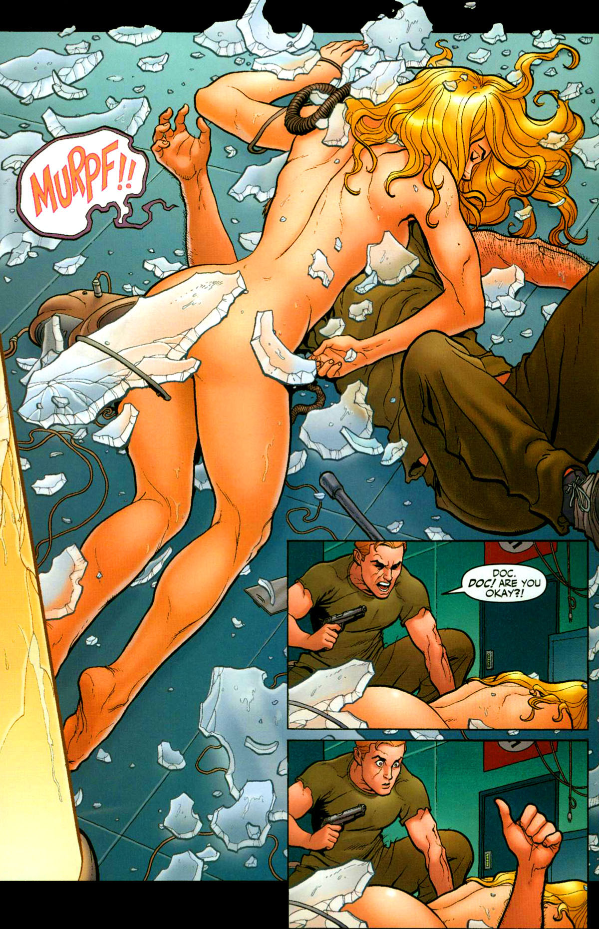 Read online Shanna, the She-Devil (2005) comic -  Issue #1 - 9