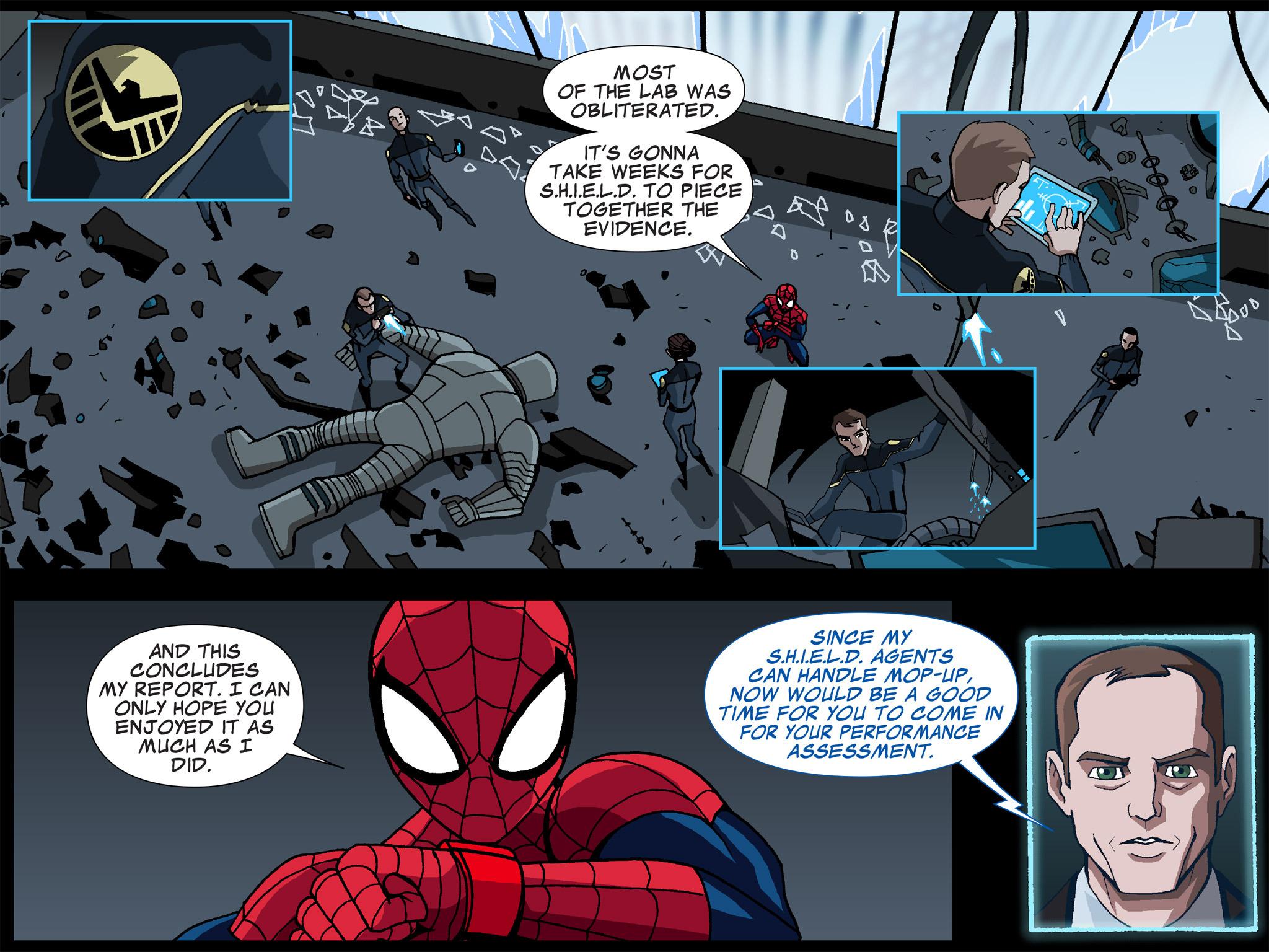 Read online Ultimate Spider-Man (Infinite Comics) (2015) comic -  Issue #5 - 9