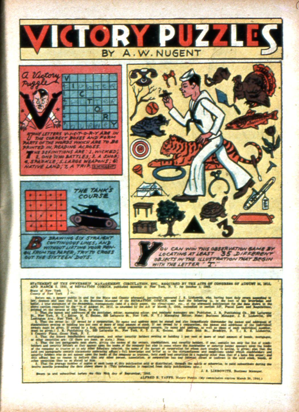 Read online Sensation (Mystery) Comics comic -  Issue #16 - 25