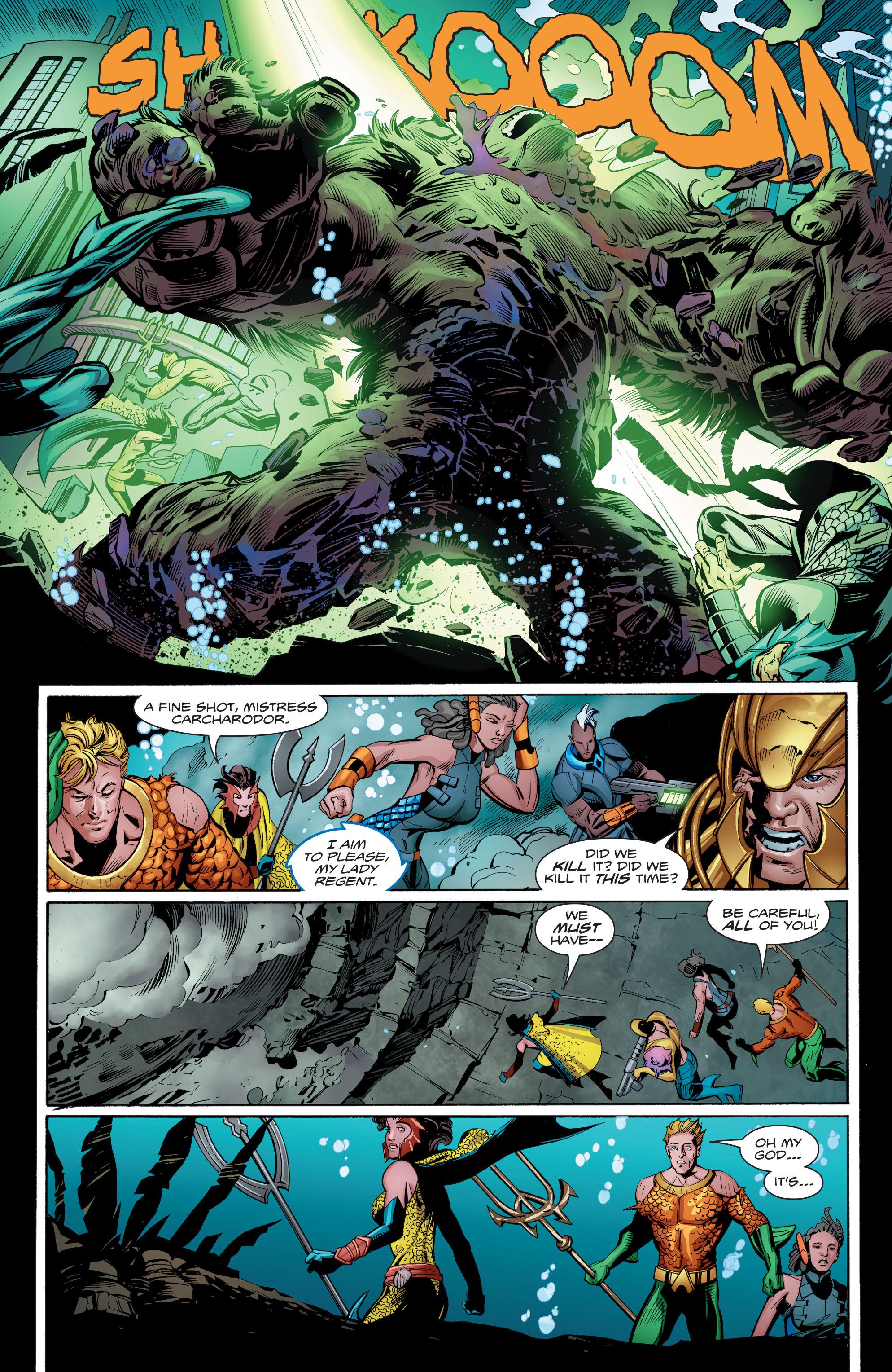 Read online Aquaman (2016) comic -  Issue #8 - 19