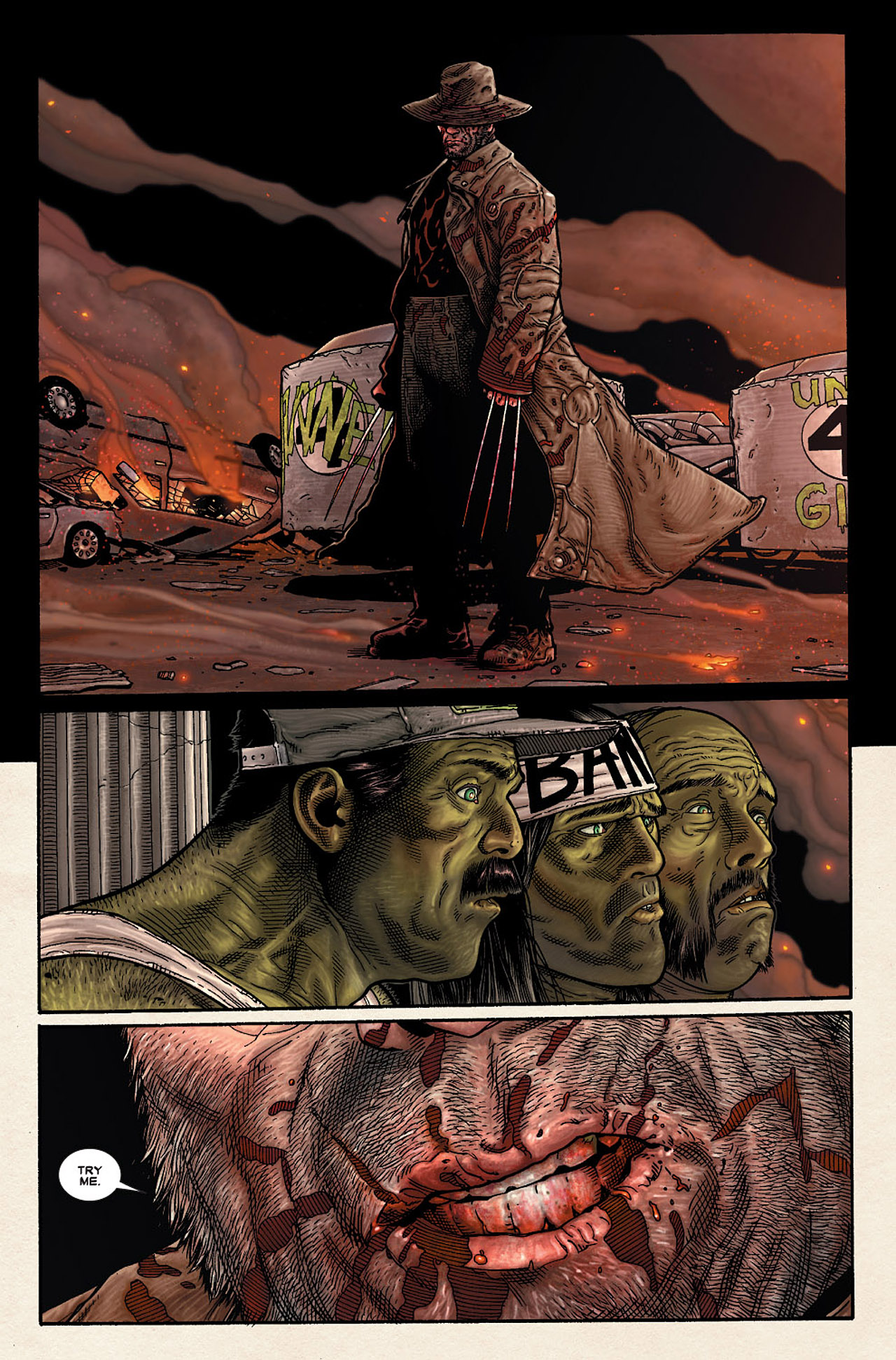 Read online Wolverine: Old Man Logan comic -  Issue # Full - 174