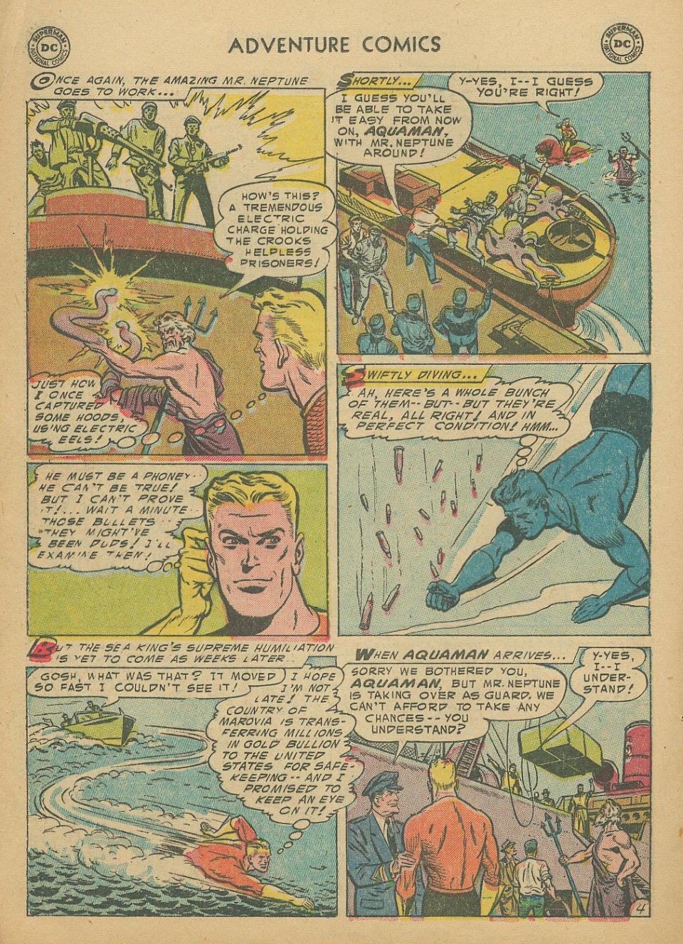 Read online Adventure Comics (1938) comic -  Issue #205 - 21