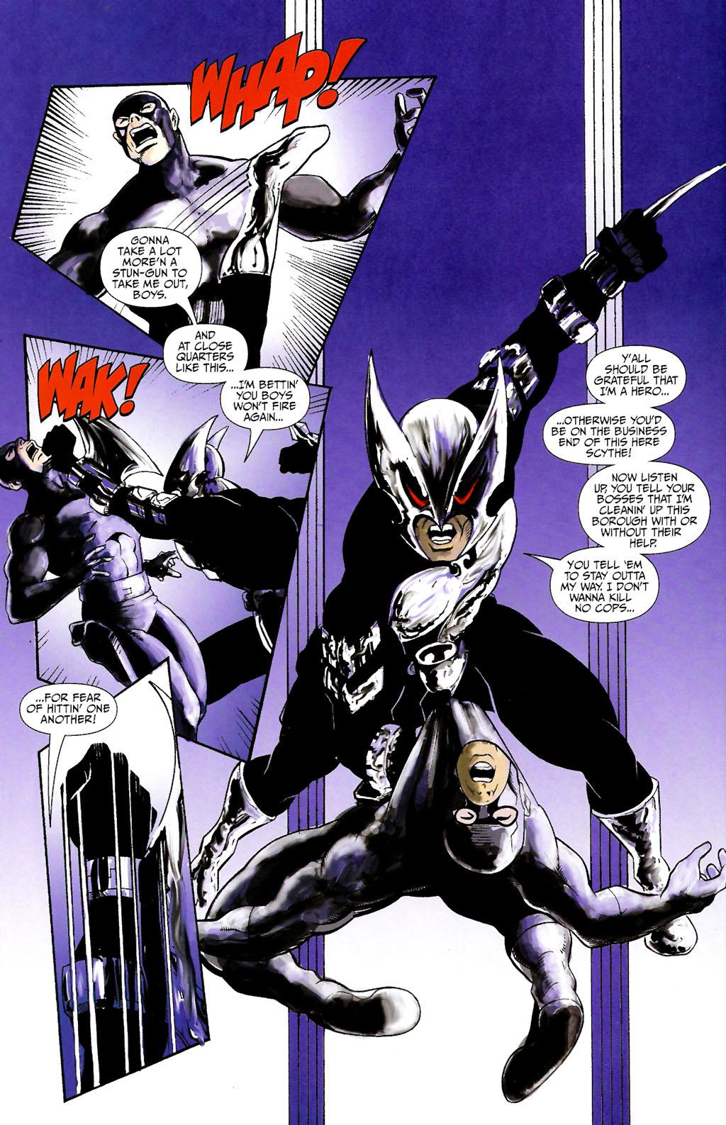 Read online ShadowHawk (2005) comic -  Issue #10 - 22