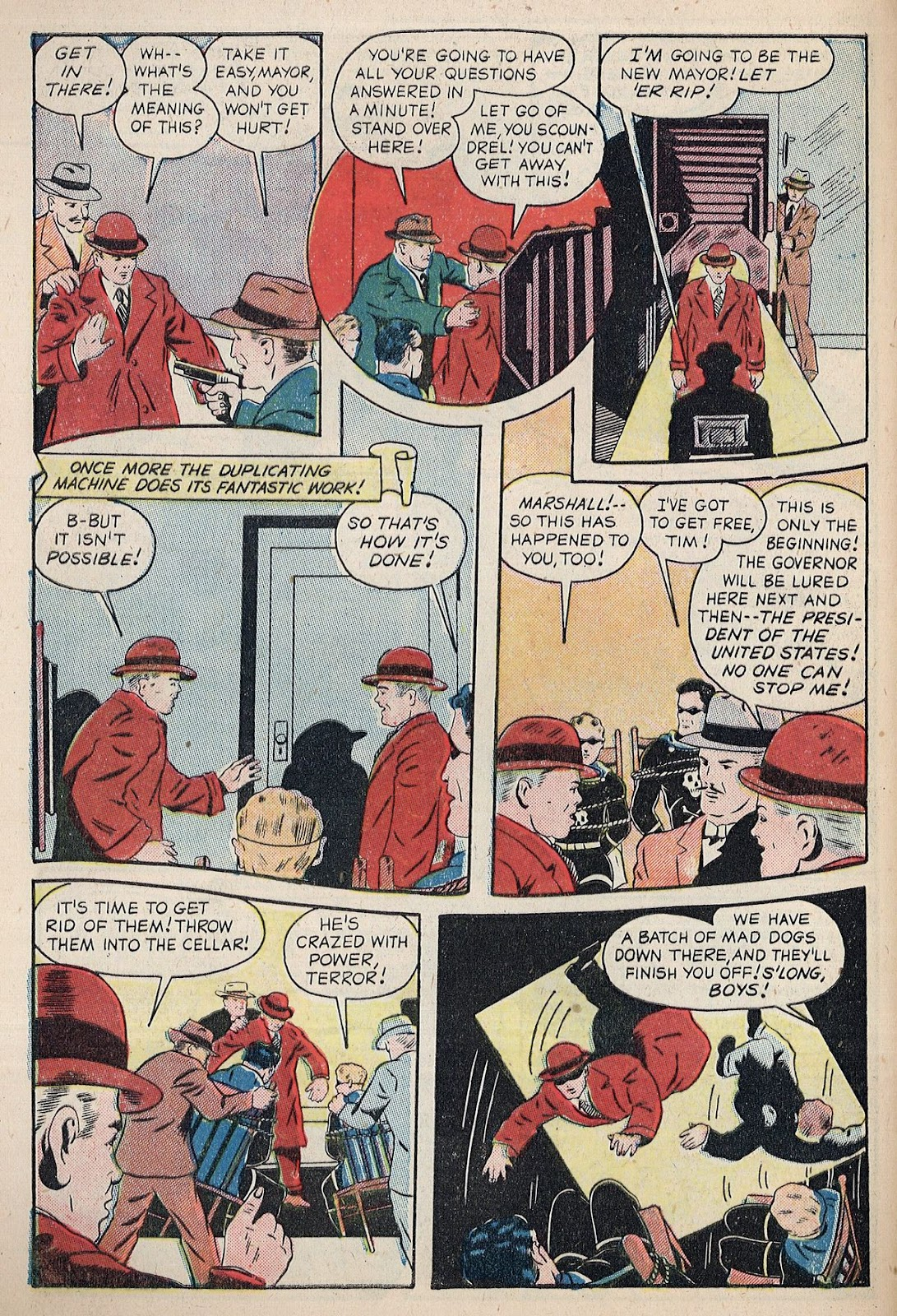 Exciting Comics (1940) issue 38 - Page 10