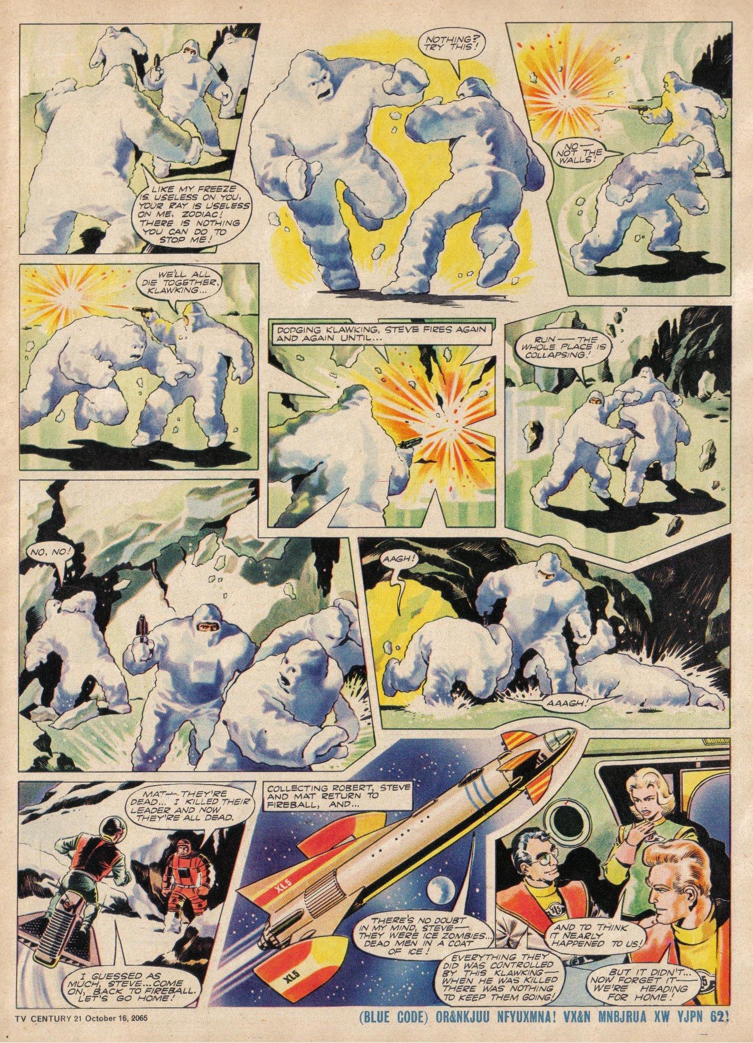 Read online TV Century 21 (TV 21) comic -  Issue #39 - 5