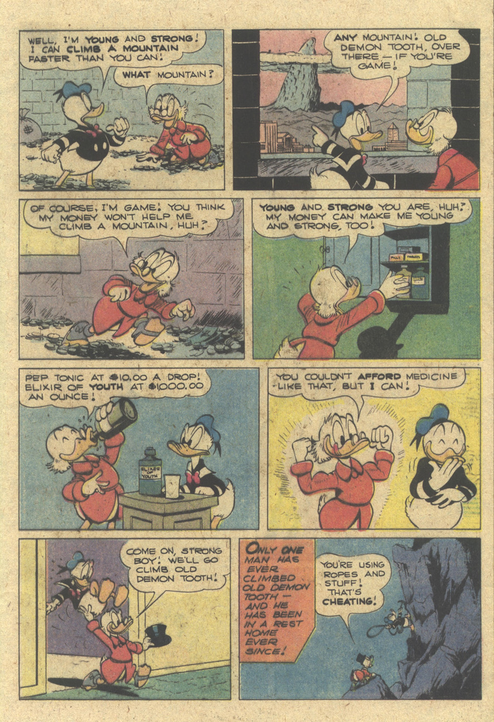 Read online Uncle Scrooge (1953) comic -  Issue #175 - 25