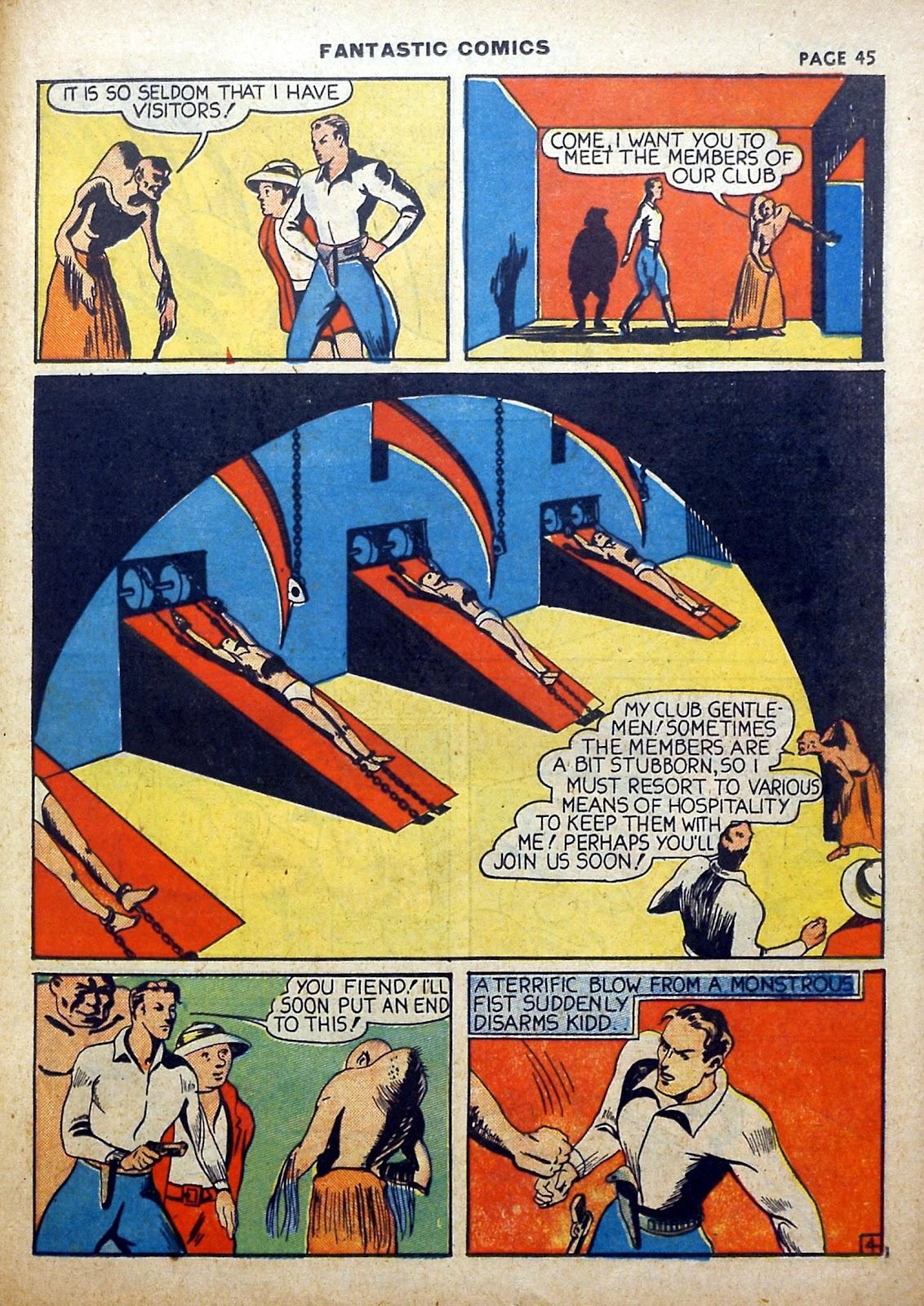 Read online Fantastic Comics comic -  Issue #5 - 46