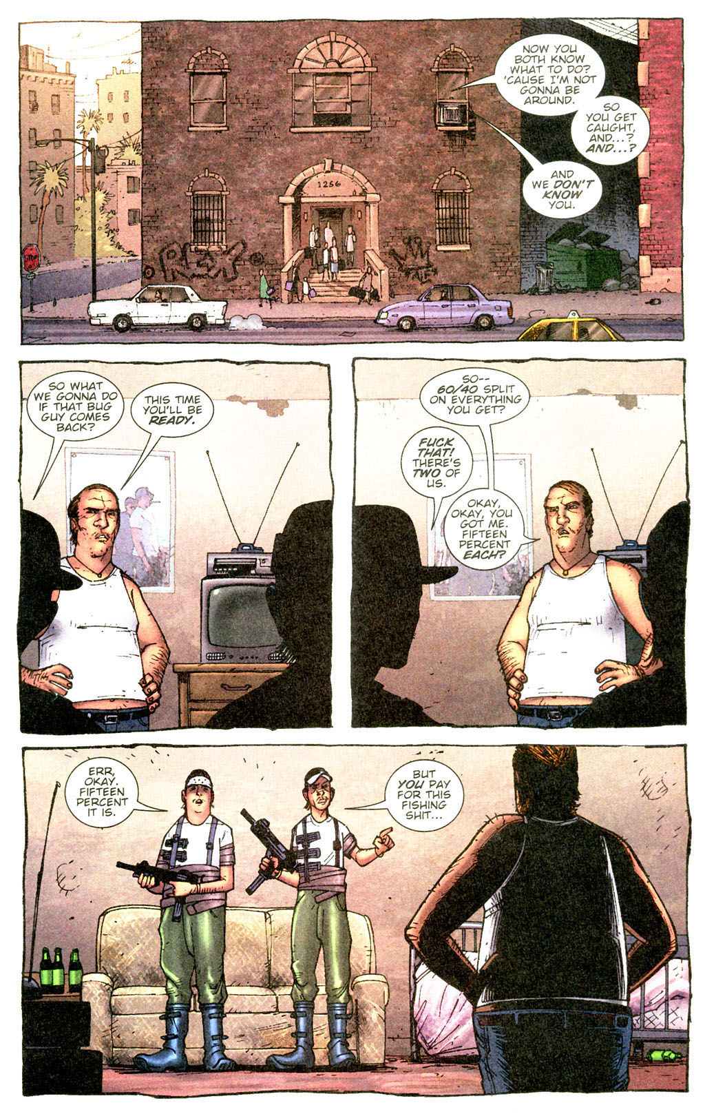 Read online The Exterminators comic -  Issue #5 - 4