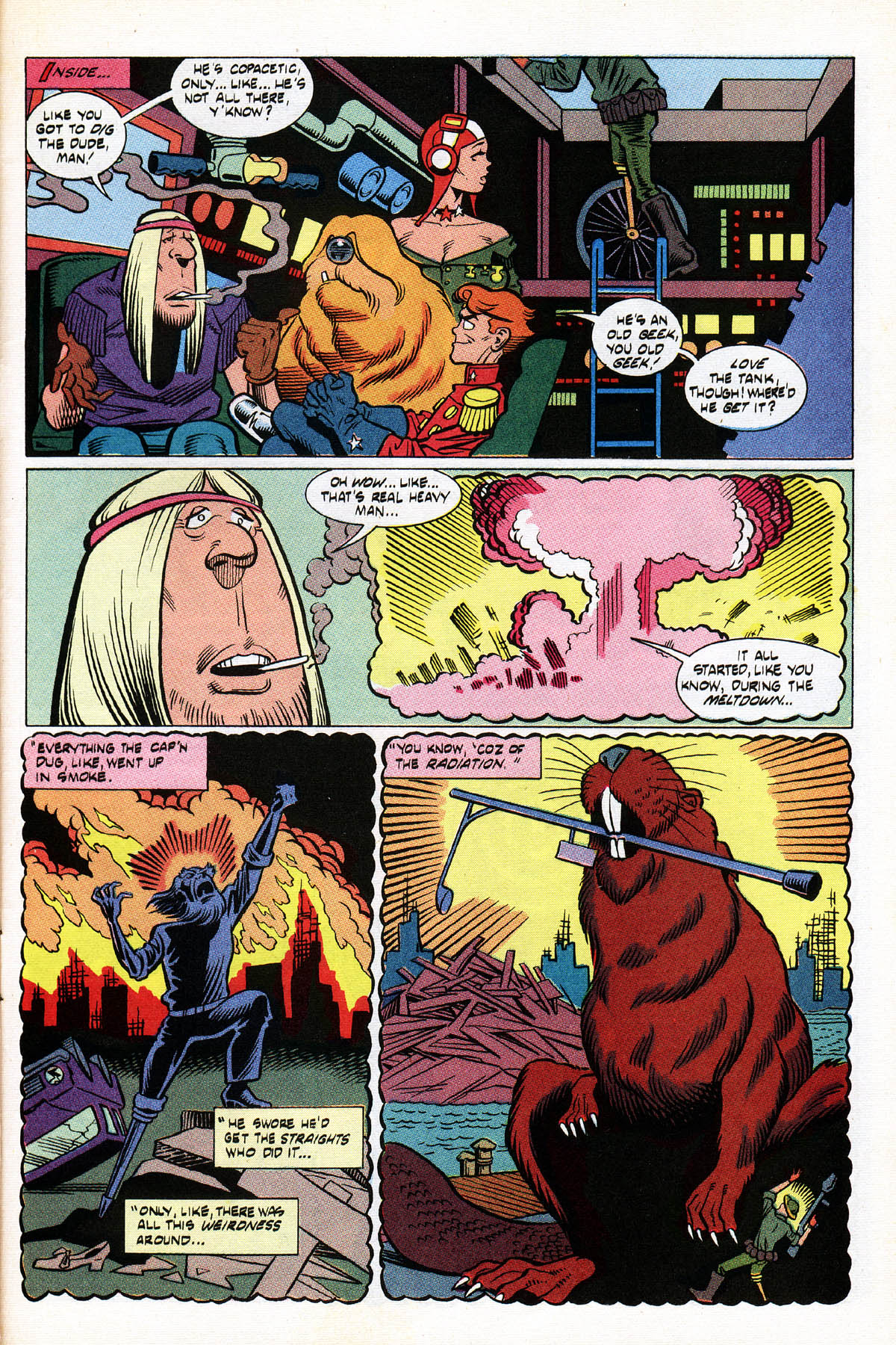 Read online American Flagg! comic -  Issue #38 - 29