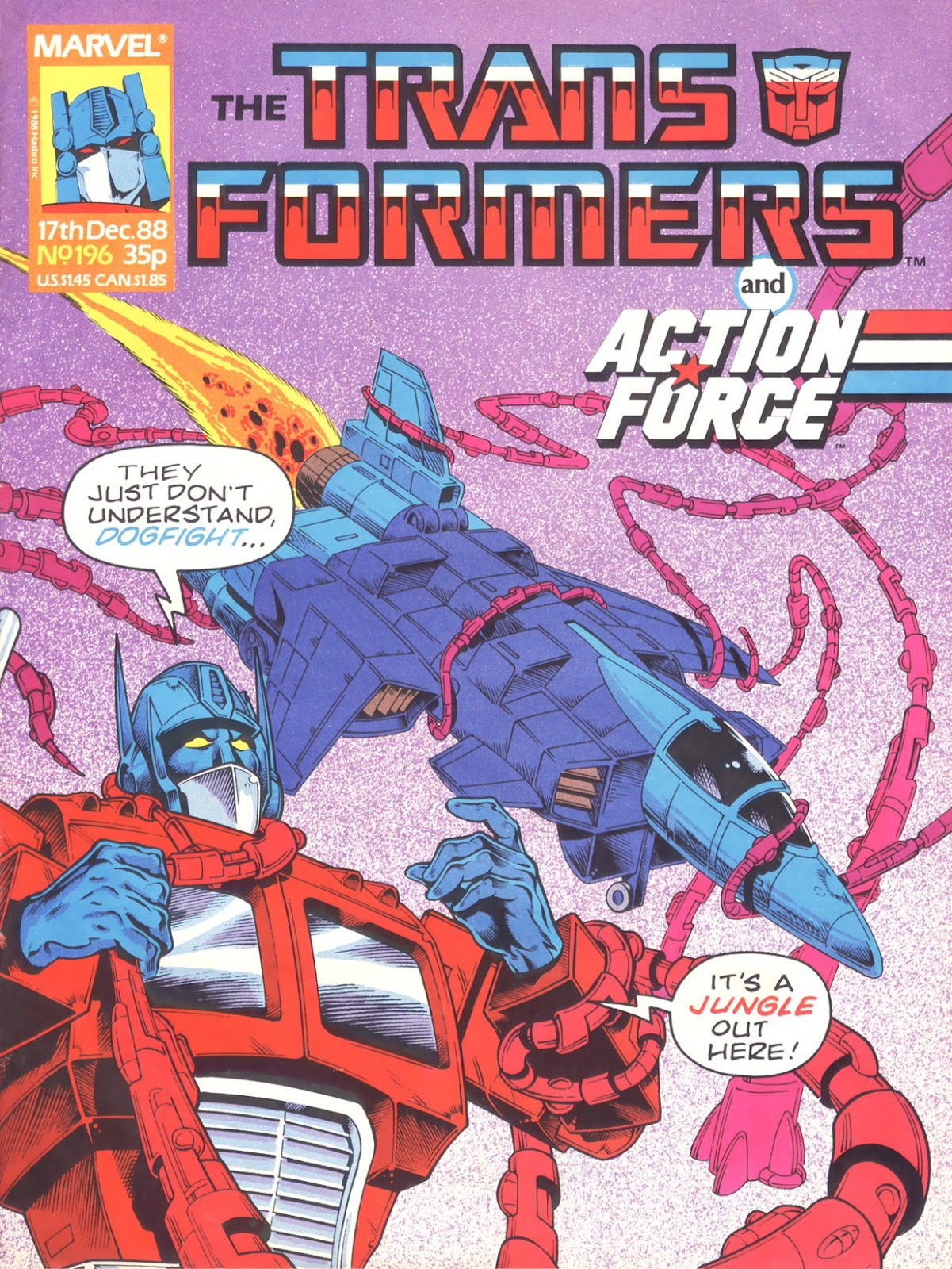 The Transformers (UK) 196 Page 1