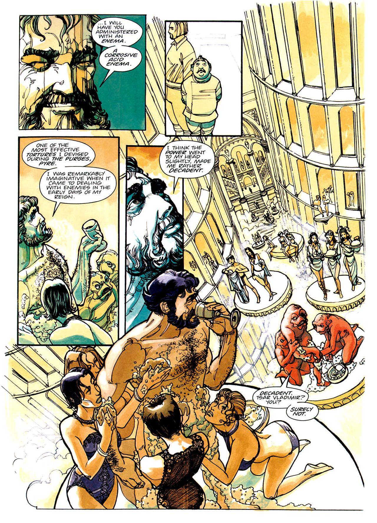 Read online Nikolai Dante comic -  Issue # TPB 1 - 18