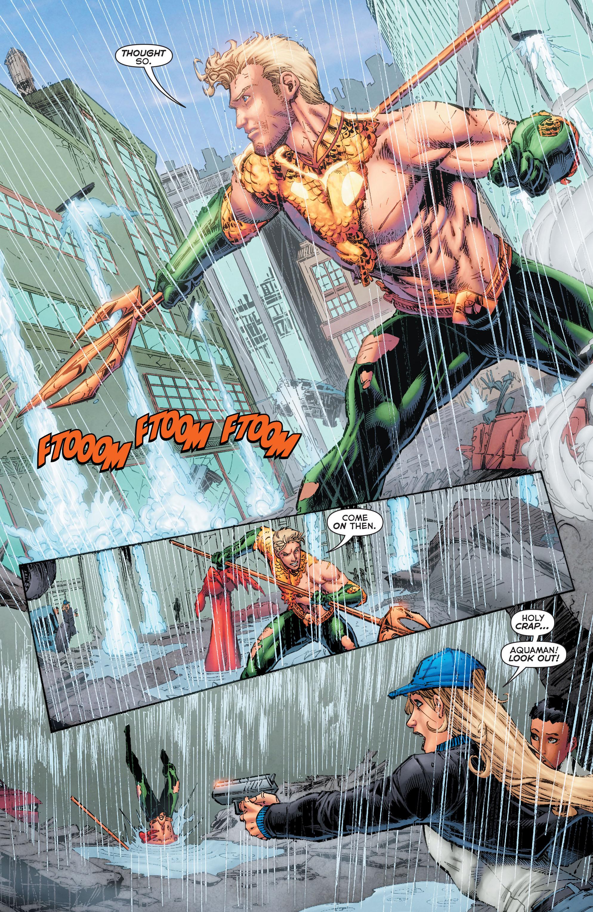Read online Aquaman (2011) comic -  Issue #50 - 31