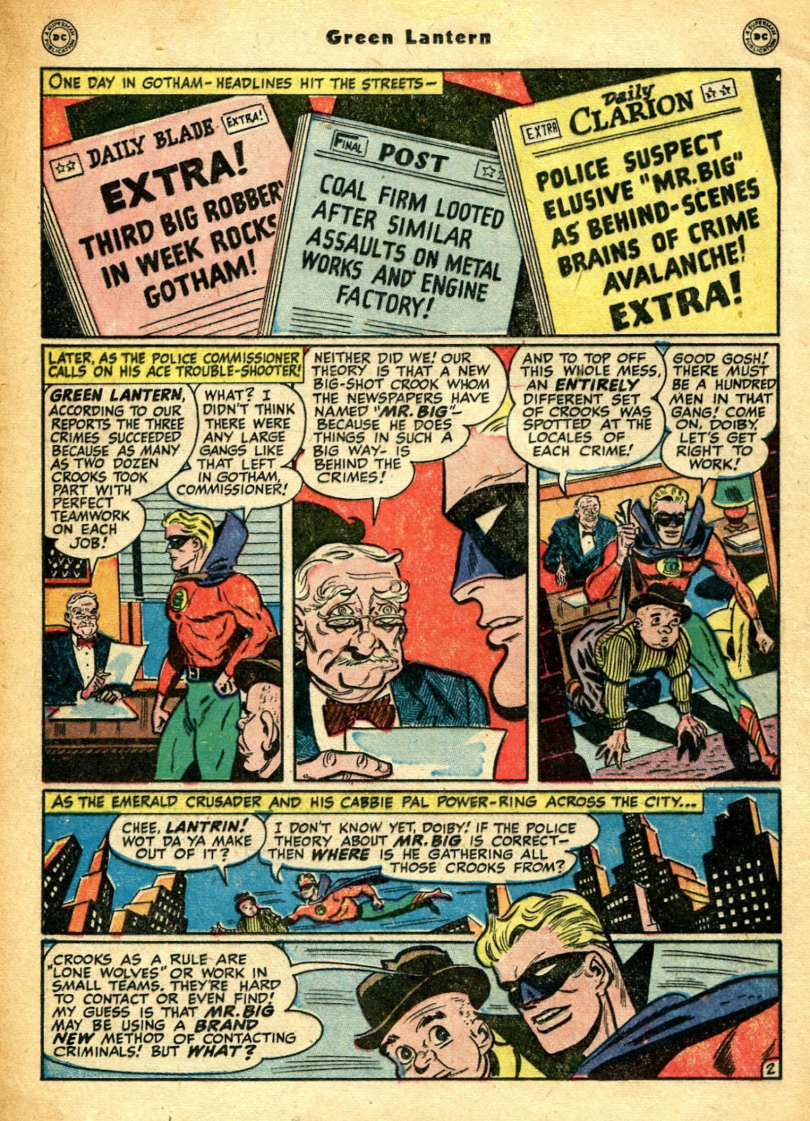 Green Lantern (1941) Issue #33 #33 - English 19