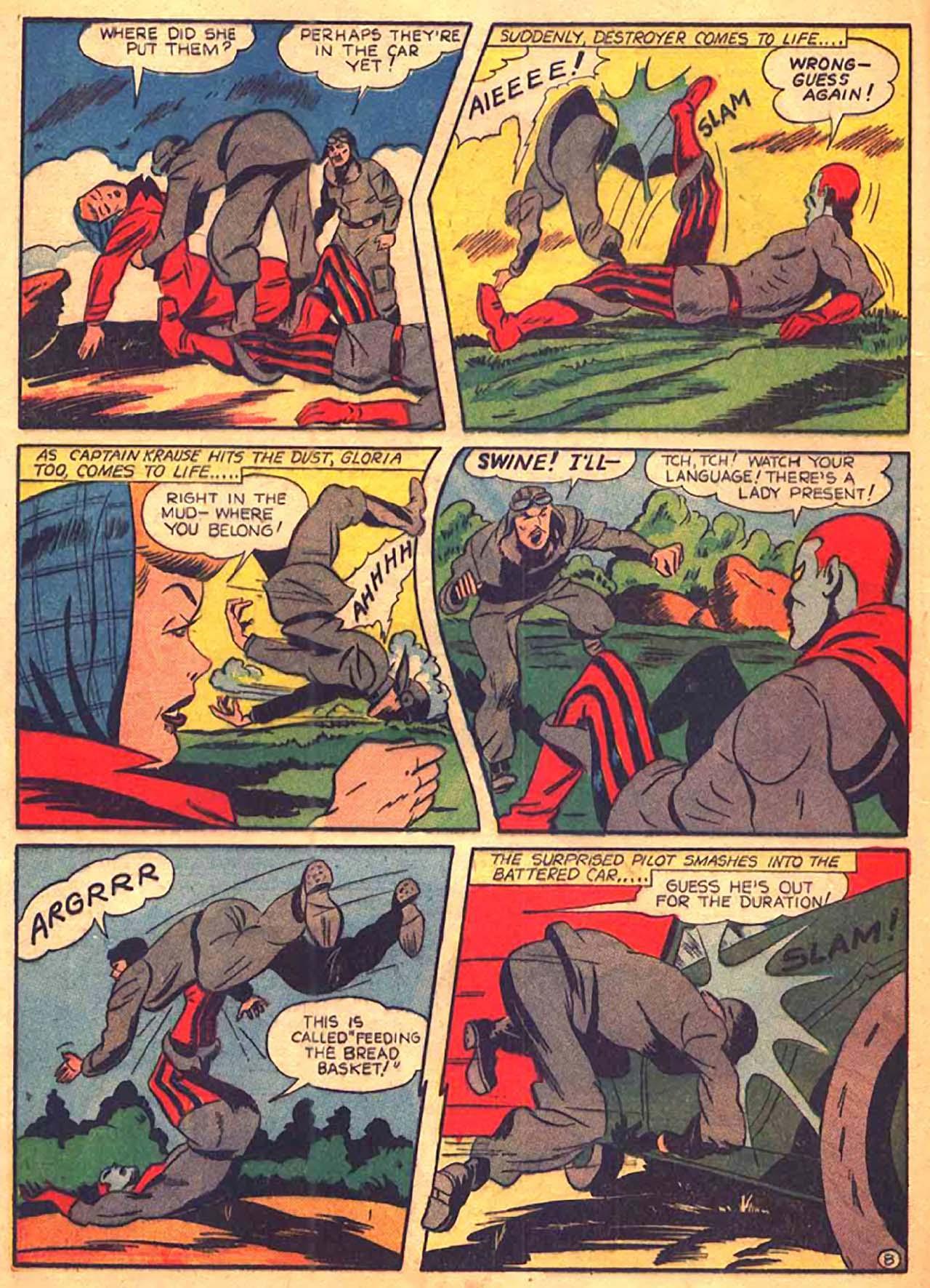 Read online All-Winners Comics comic -  Issue #9 - 47