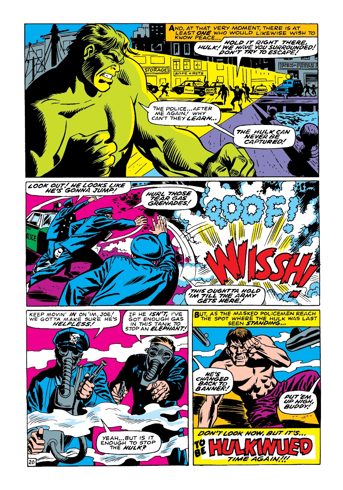 Read online Marvel Masterworks: The Incredible Hulk comic -  Issue # TPB 4 (Part 1) - 27