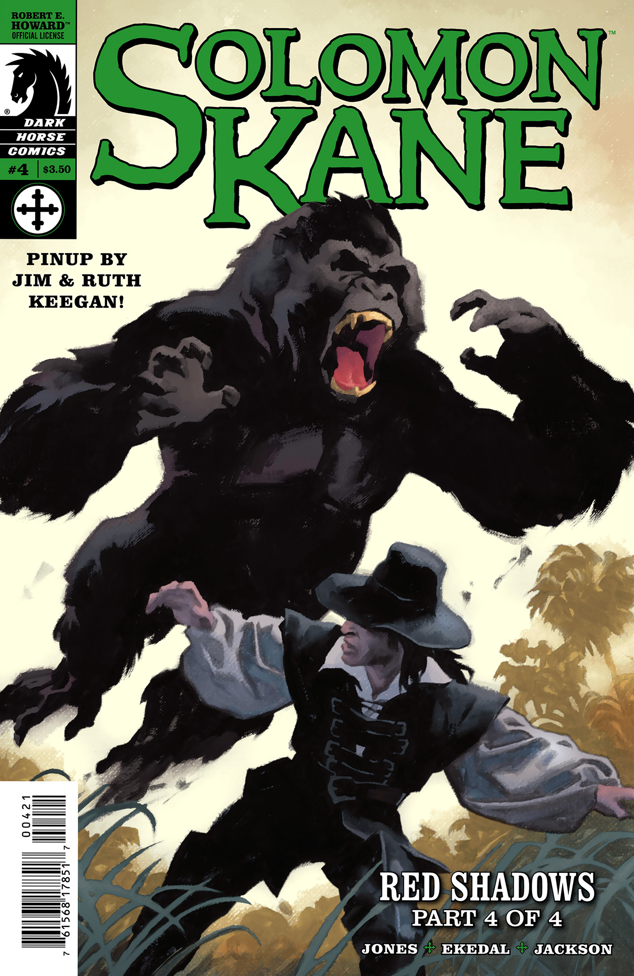 Read online Solomon Kane: Red Shadows comic -  Issue #4 - 2