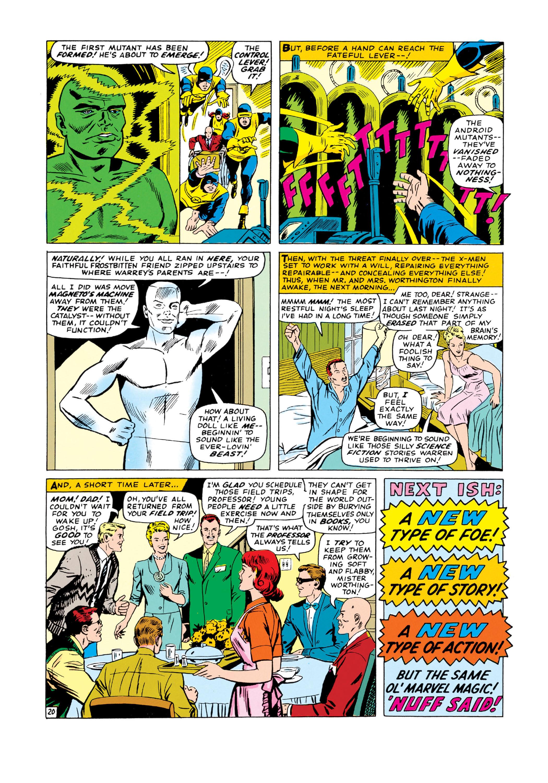 Read online Uncanny X-Men (1963) comic -  Issue #18 - 21