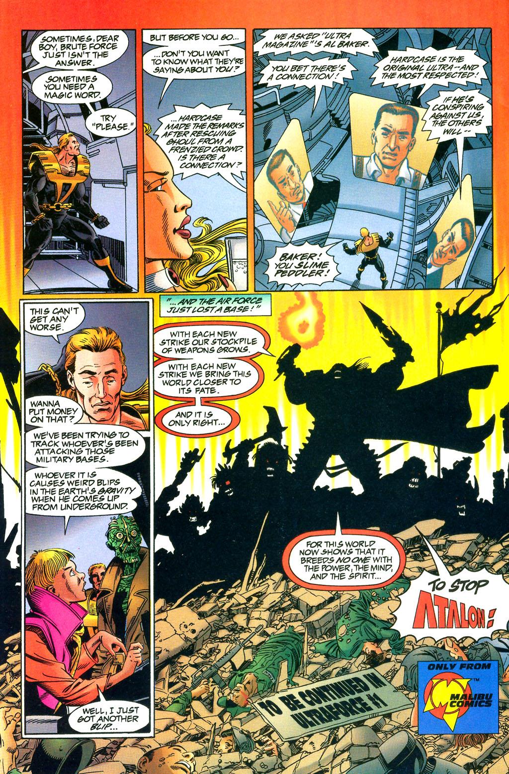 Read online UltraForce (1994) comic -  Issue #0 - 27