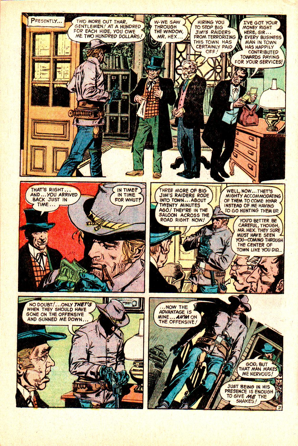 Read online All-Star Western (1970) comic -  Issue #10 - 4
