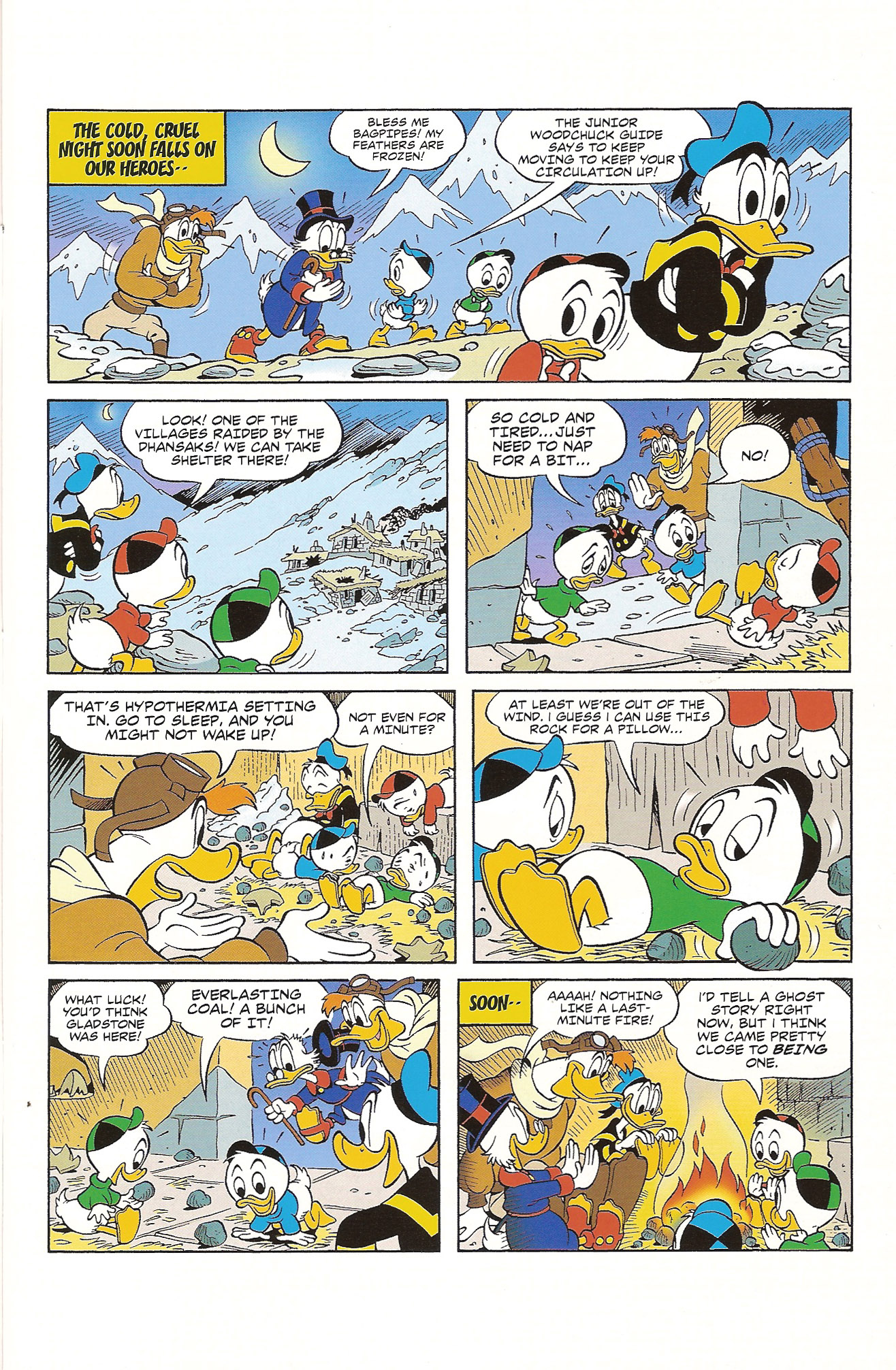 Read online Uncle Scrooge (1953) comic -  Issue #392 - 12