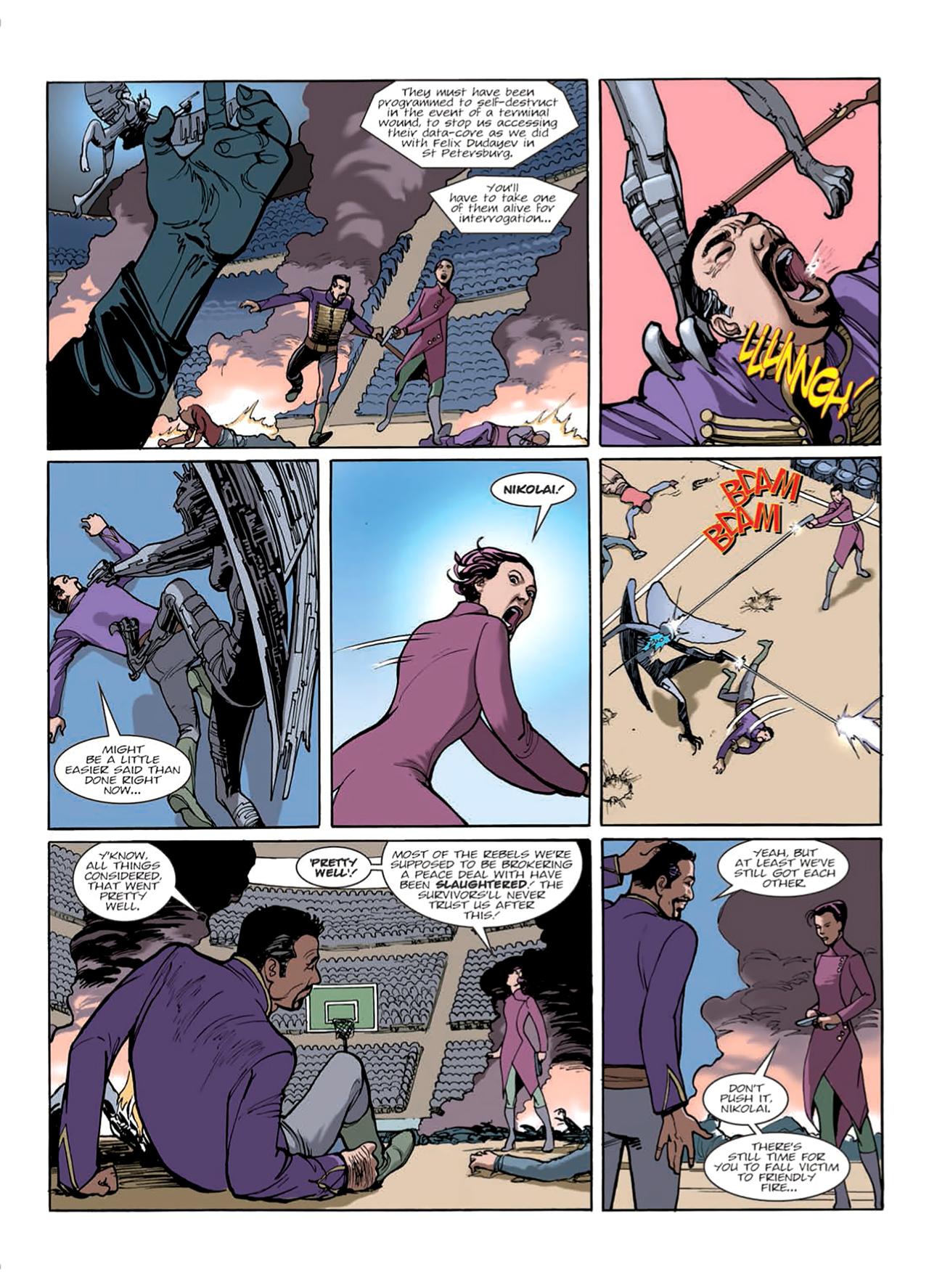 Read online Nikolai Dante comic -  Issue # TPB 9 - 44