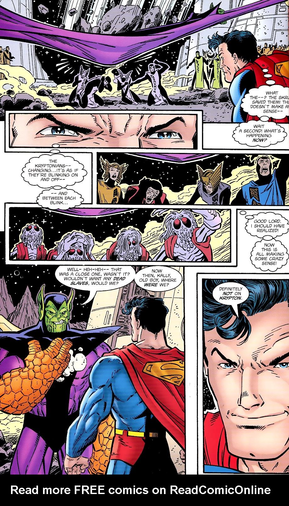 Read online Silver Surfer/Superman comic -  Issue # Full - 22