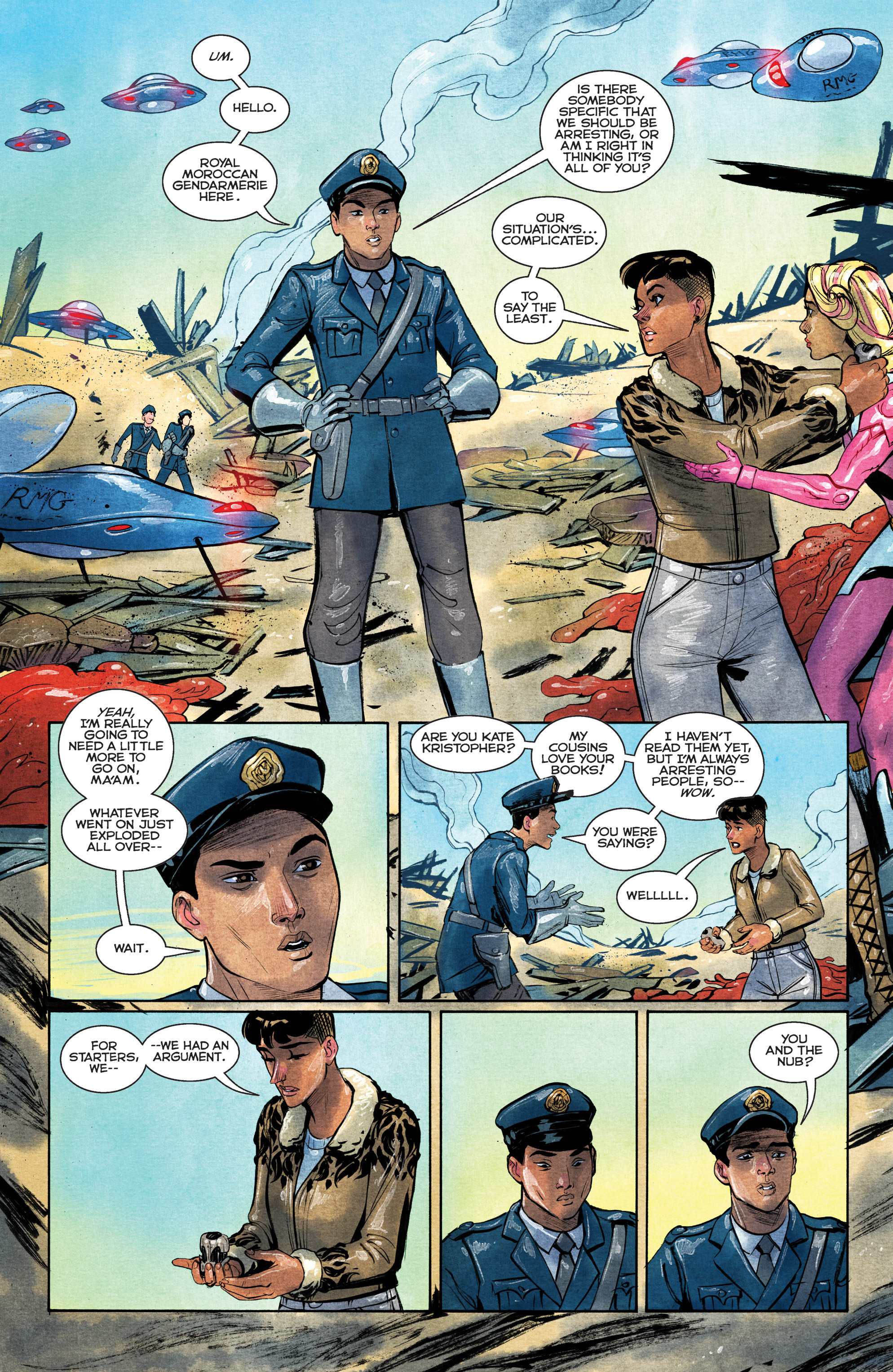 Read online Shutter comic -  Issue #28 - 15