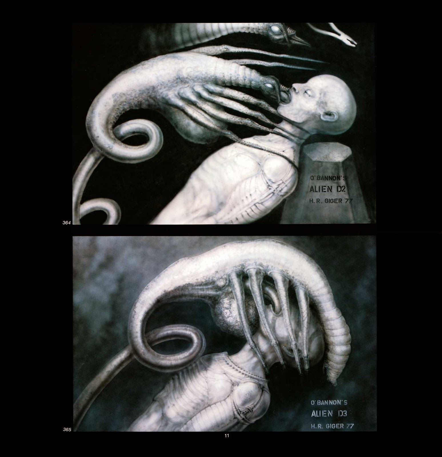 Read online Giger's Alien comic -  Issue # TPB - 13