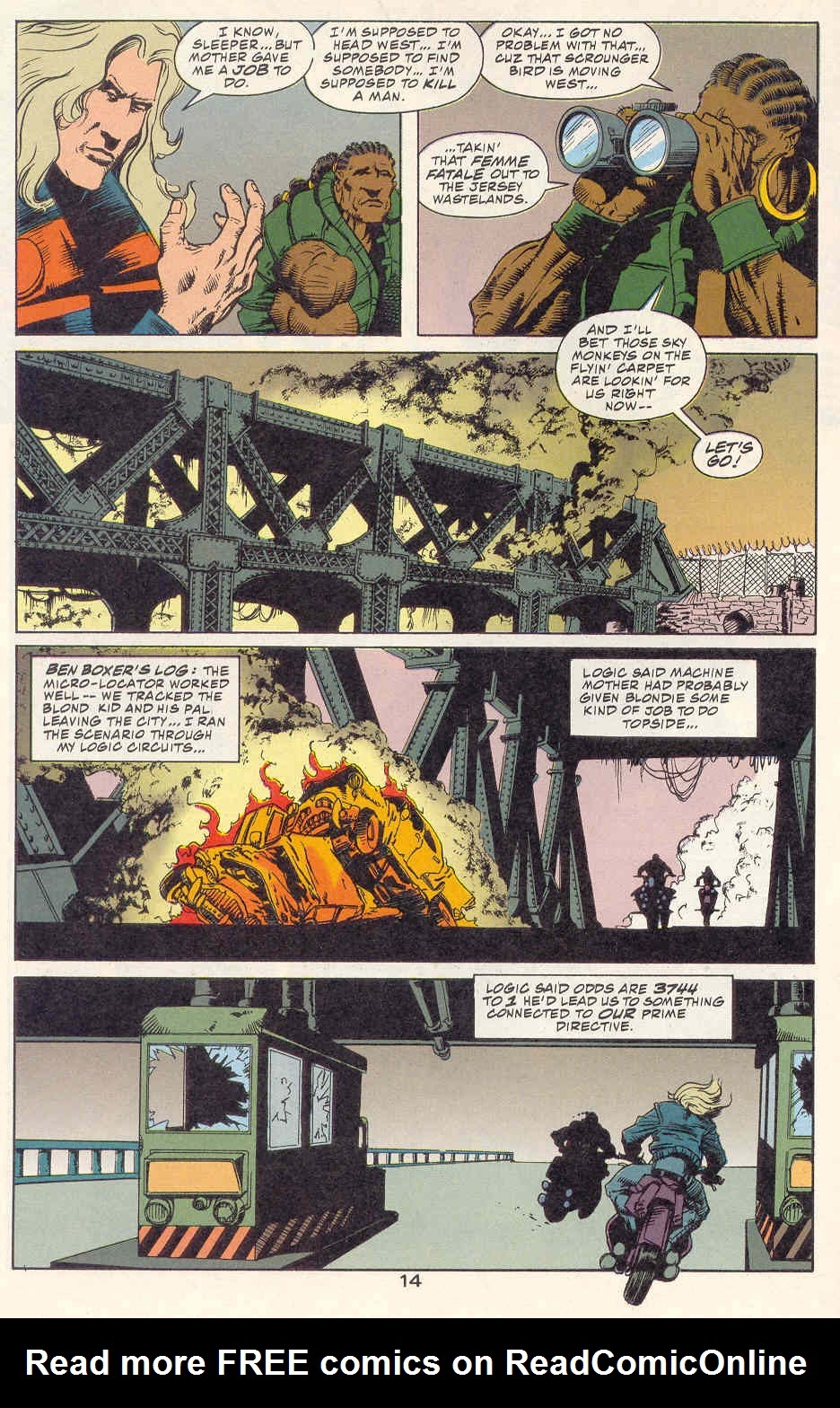 Read online Kamandi: At Earth's End comic -  Issue #2 - 15